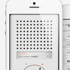 T3 Music Player – Inspired by Dieter Rams