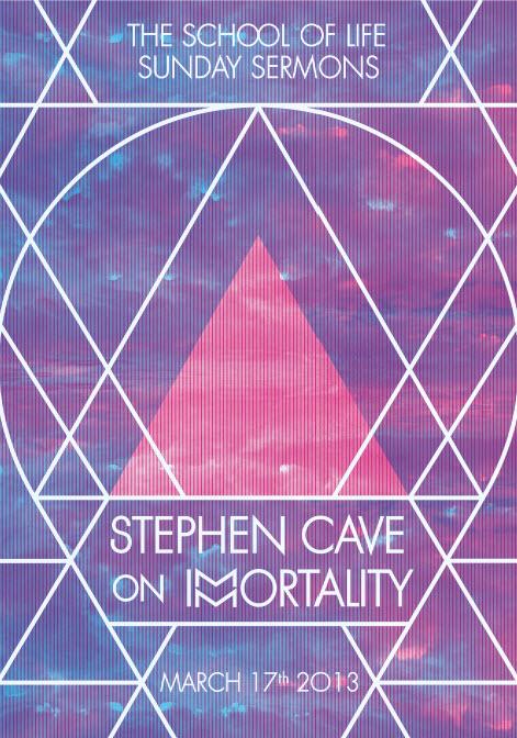 Stephen Cave Poster by Atelier DeuxMille