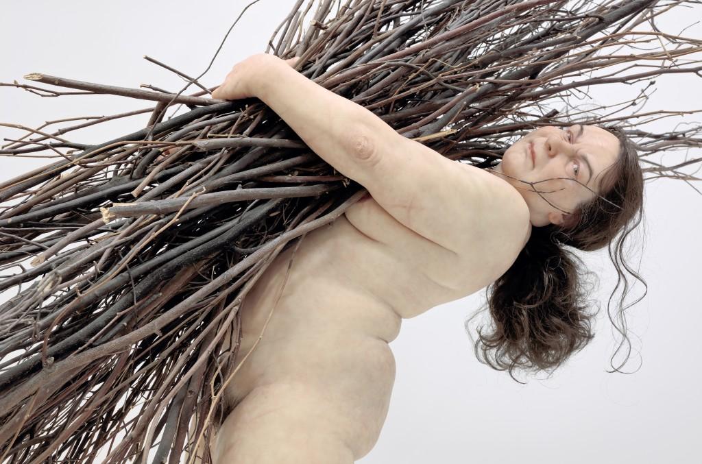 Woman with Sticks, 2010