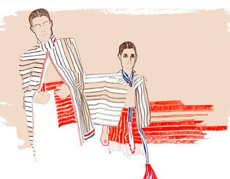 Thom Browne by Holly Monger