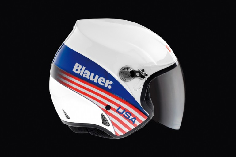 Casco Blauer _ modello Boston _ white