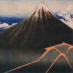 Black Fuji by Katsushika Hokusai_dot