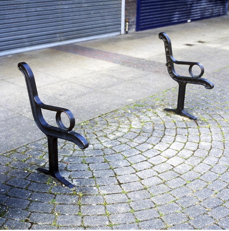 Untitled, (Bench) Tilehurst, April 2009 By James Duncan Clark