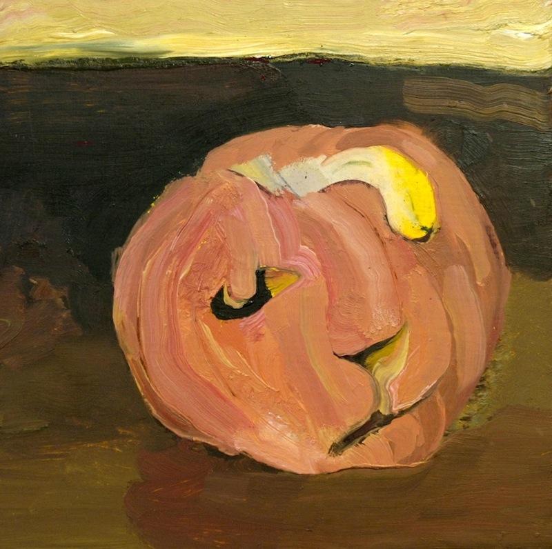 Pumpkin Oilon Board 14x14 inches 2003-4
