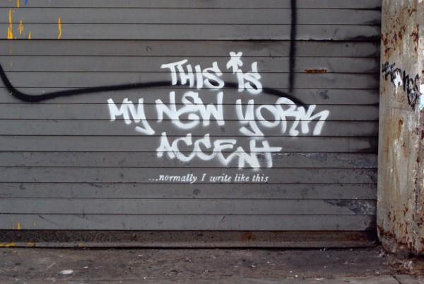 Banksy - My NY accent