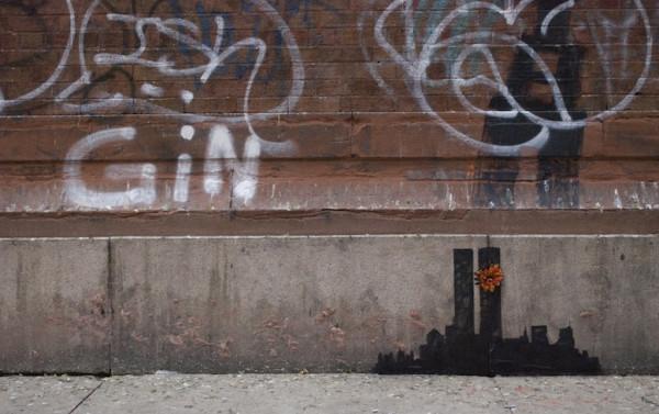 Banksy - NYC Skyline