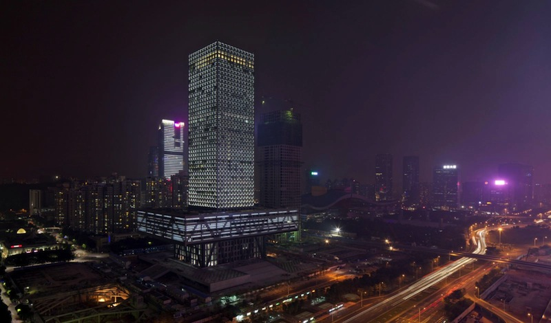 Shenzhen Stock Exchange Building by OMA01