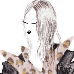 Trussardi AW 13-14 Illustration by Natasha Wigoder