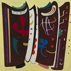 Wassily Kandinsky Aangevuld bruin
