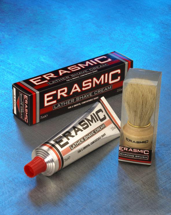 Erasmic Lather Shave and Brush.2004
