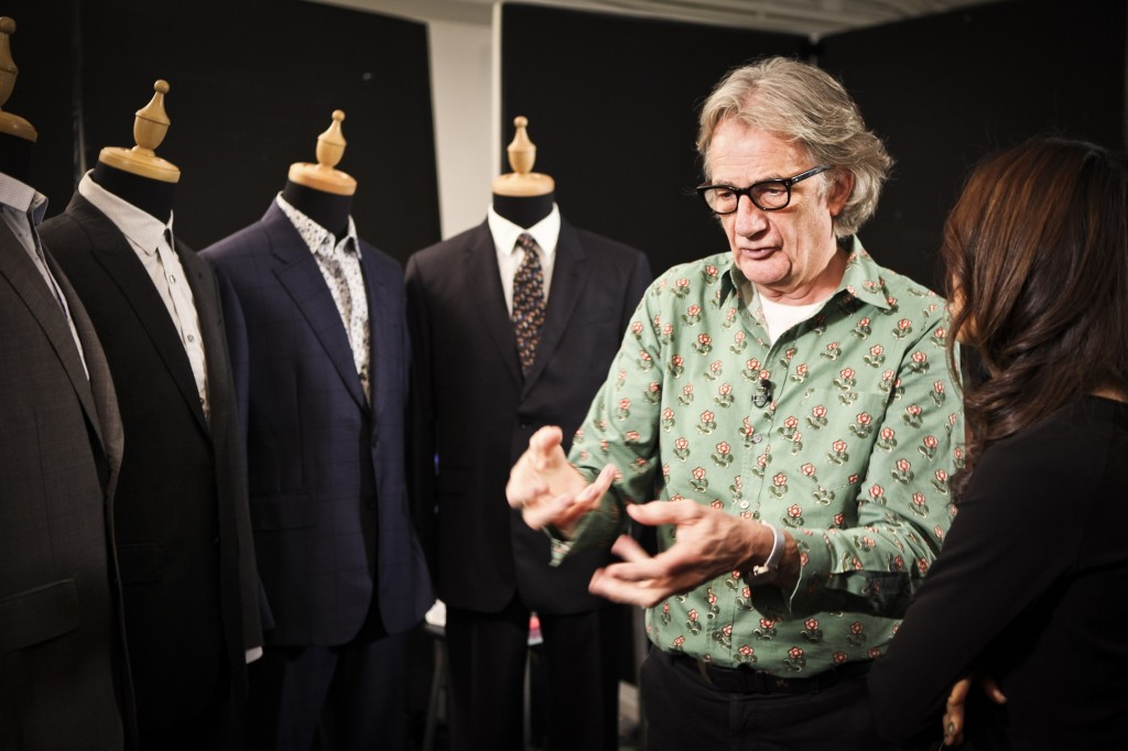 Paul Smith with cool wool looks