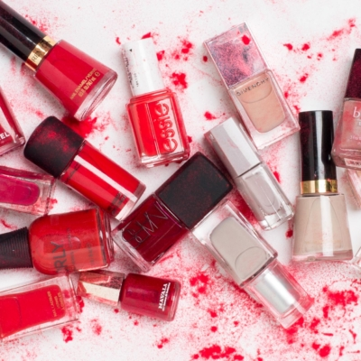XXL: The Ultimate Red and Neutral Nails