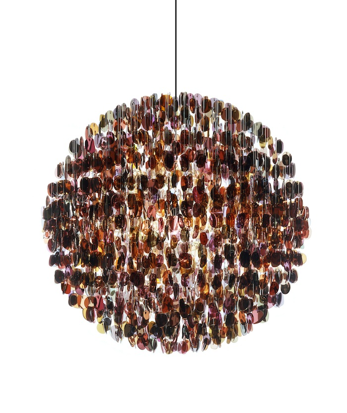 OPTICAL CHANDELIER TINTED