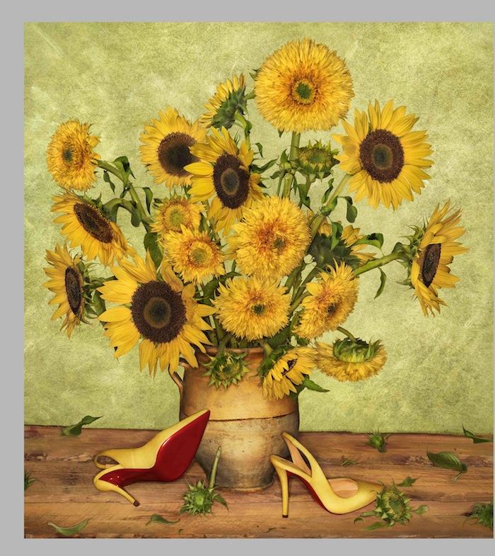 SS14 Louboutin Look Books Van Gogh _ Photographer Peter Lippman