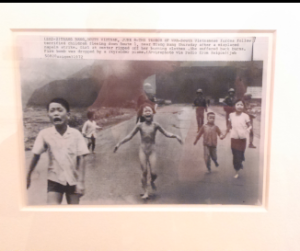 "Huynh Cong ""Nick"" Ut  ""Moment of Terror - Vietnamese Children Flee Down Route 1 Near Trang Bang, South Vietnam"", June 8, 1972"