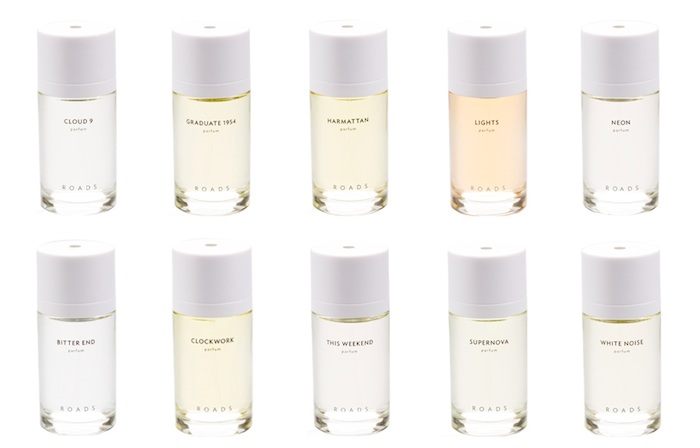 Roads'  Ten Eau De Parfum Fragrances