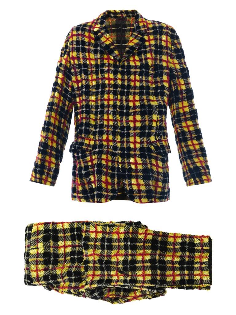 Decades X Jean Paul Gaultier_Sequin plaid suit_era1990_£2803.00-2