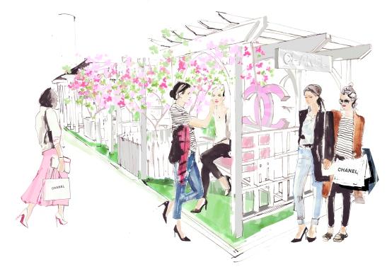 Cent - Chanel Butterfly Garden
