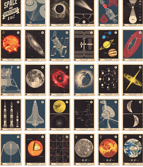 'Space and Spacecraft' Open edition Giclée by 67inc 594mm x 420mm (A2) £40