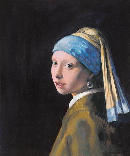 jmt12007_john_myatt_girl with pearl earring in the style of johan vermeer