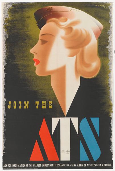 Cent - ATS poster - Abram Games
