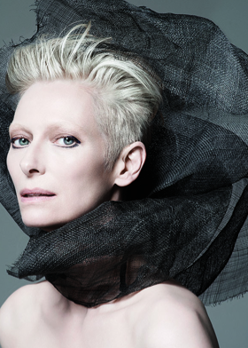 Weave: Tilda Swinton for Nars