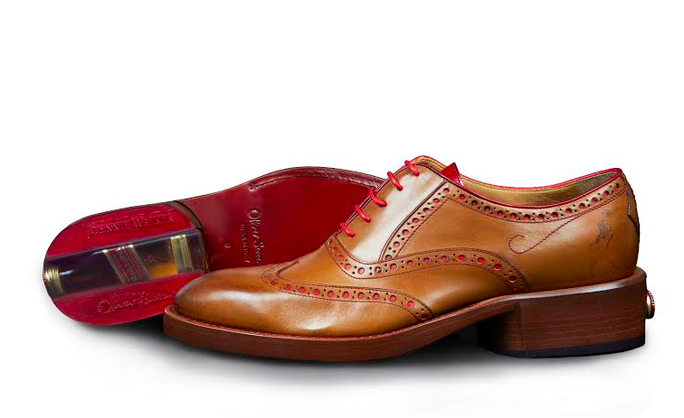Cent - Johnnie Walker shoe - side