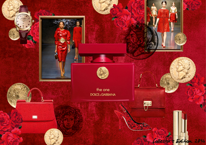 Cent - dolce gabbana the one - moodboard