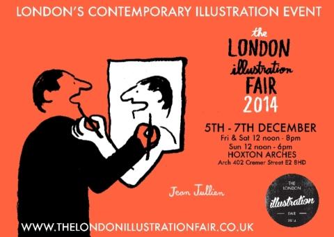 The London Illustration Fair 2014