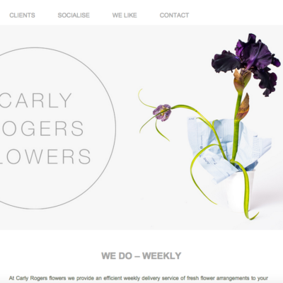 Carly Rogers Flowers