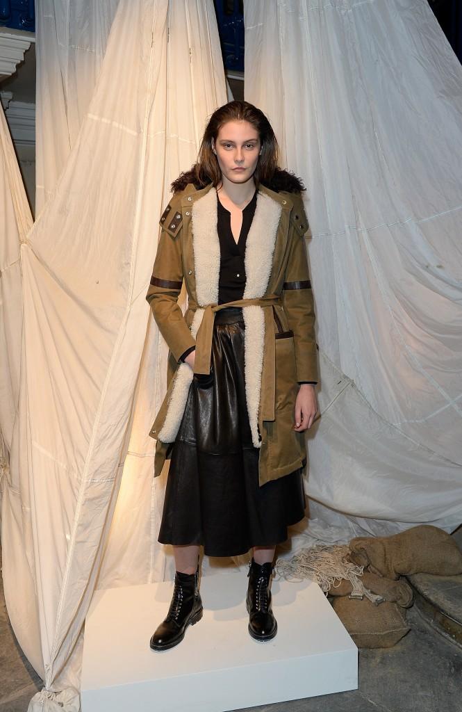 Belstaff Autumn Winter 15 London Fashion Week Presentation