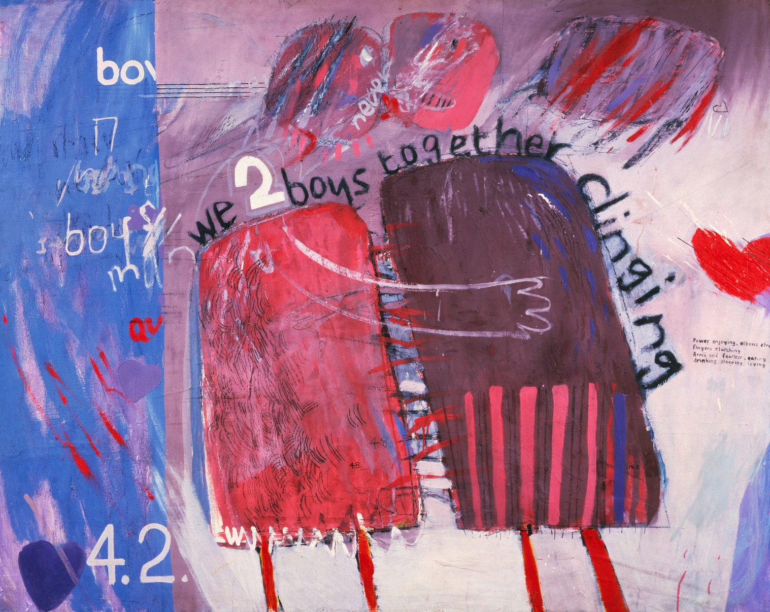 We Two Boys Together Clinging-David Hockney