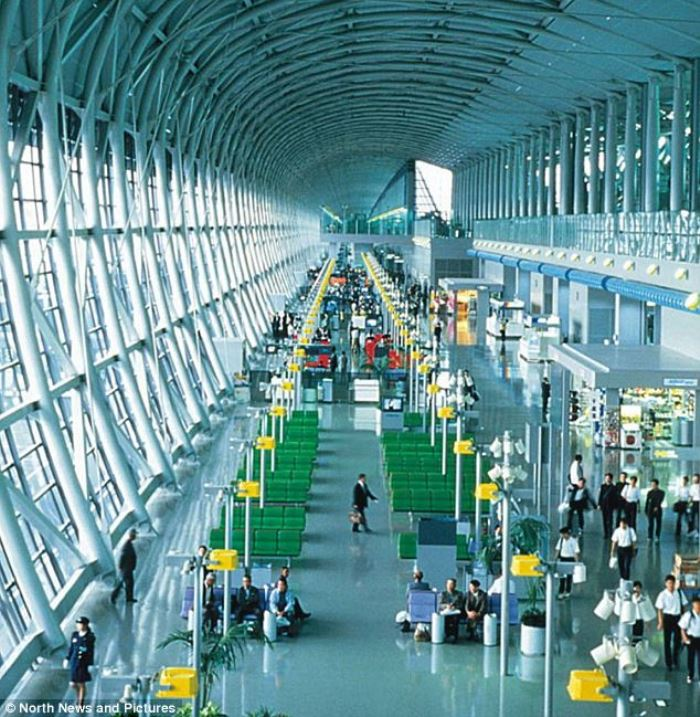 Osaka Kansai airport, in Osaka, Japan1