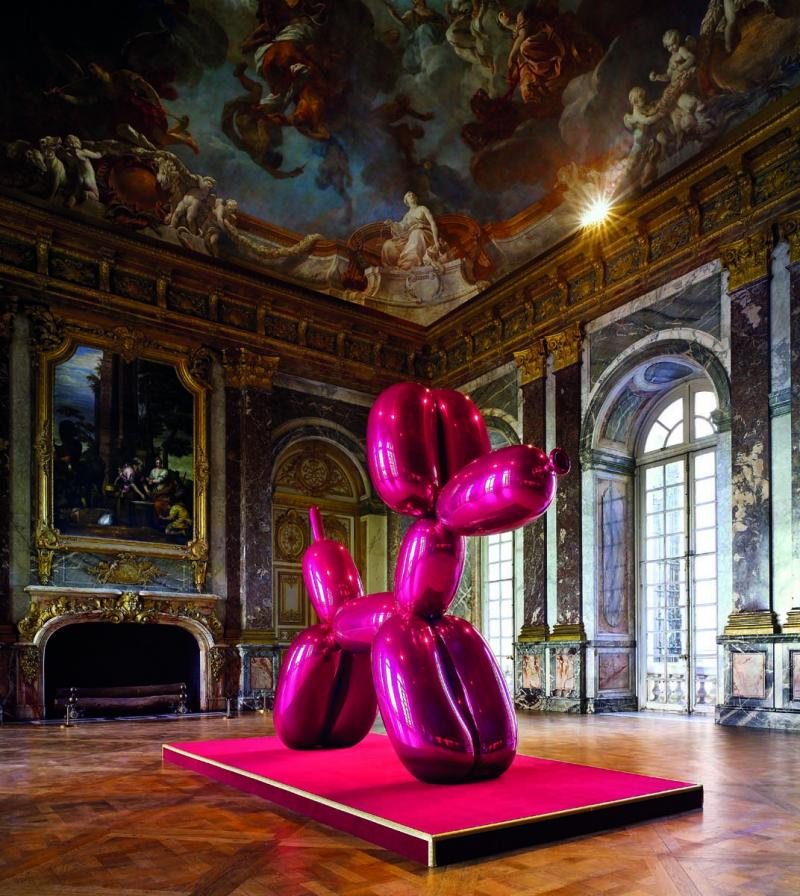 jeff-koons-Balloon-Dog-Magenta-versailles-2008
