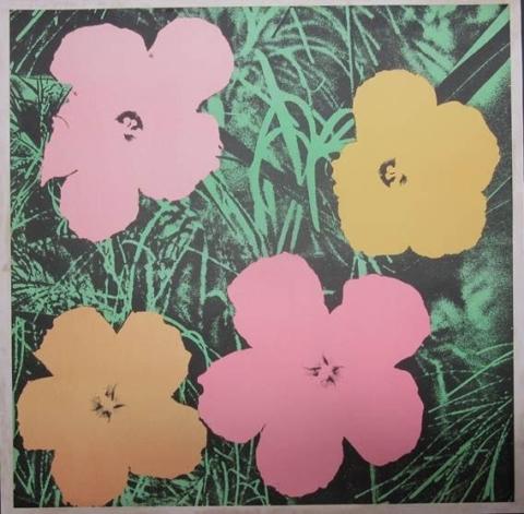 Andy Warhol Prints and Drawings at Olympia International Art Fair