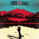 blood red shoes water