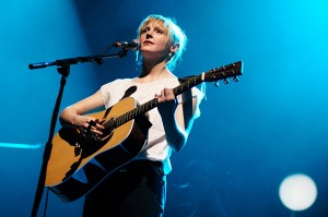 Laura Marling performing live at the London Palladium. 25th Apri