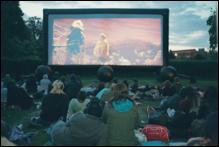 pop up cinema