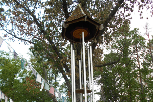 world largest tuned wind chime