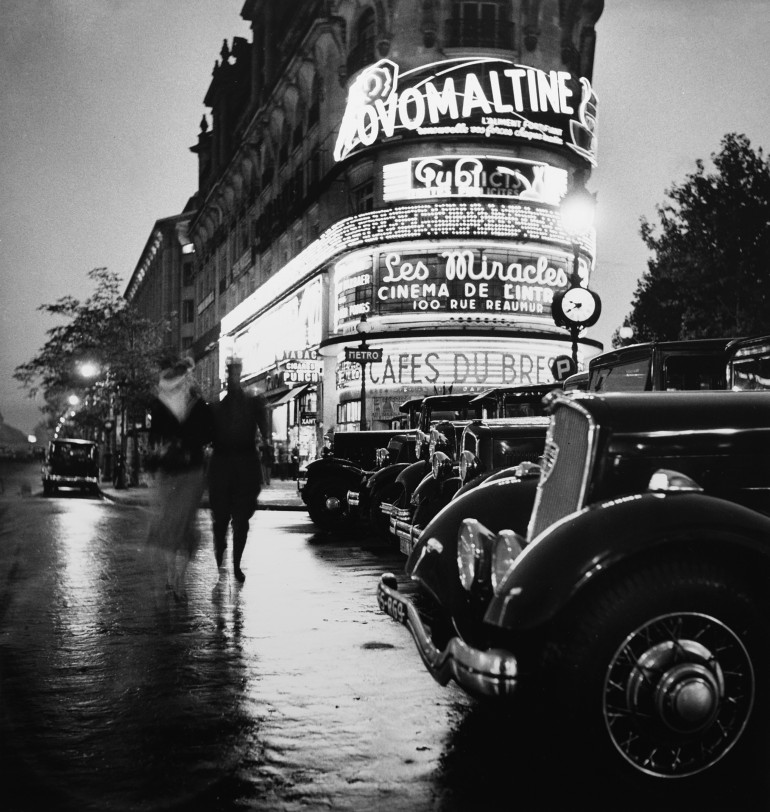 Boulevards 1935 - Roger Schall Courtesy Galerie ARGENTIC