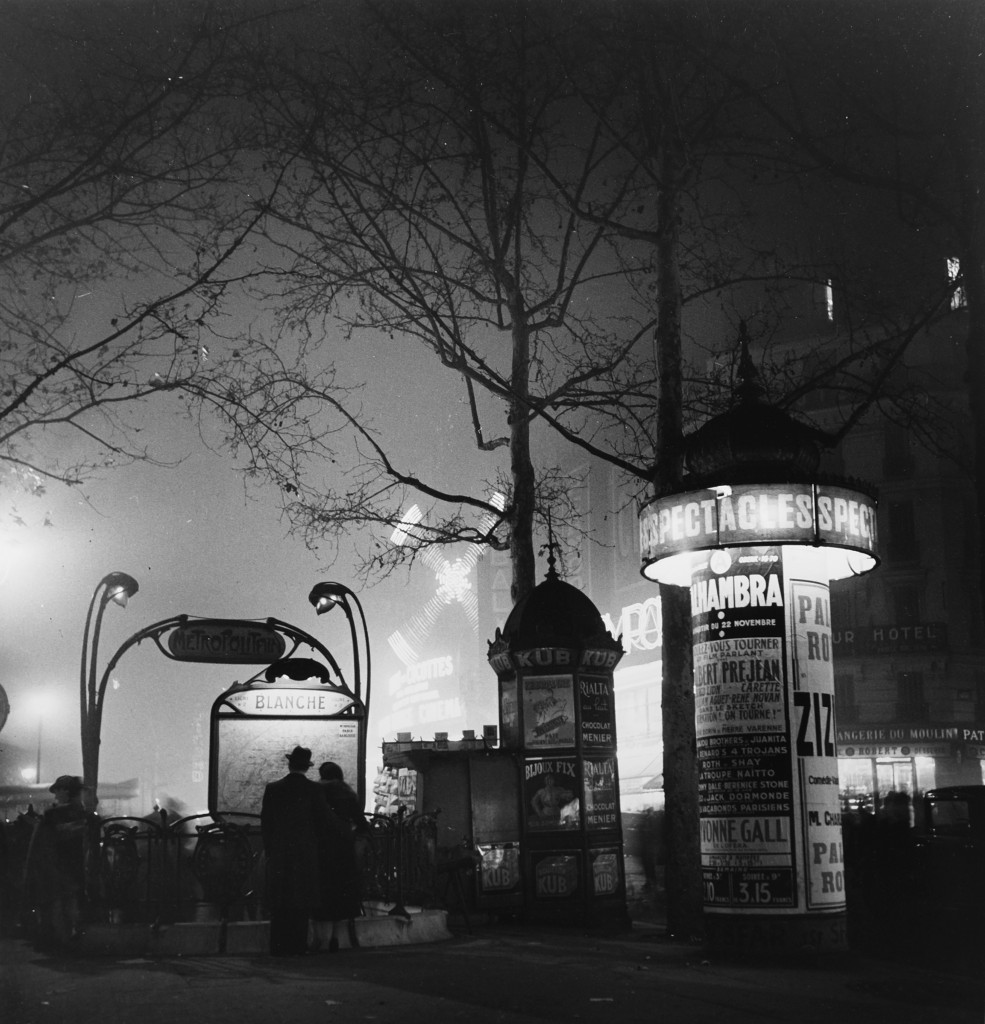 Metro Blanche 1935 - Roger Schall Courtesy Galerie ARGENTIC
