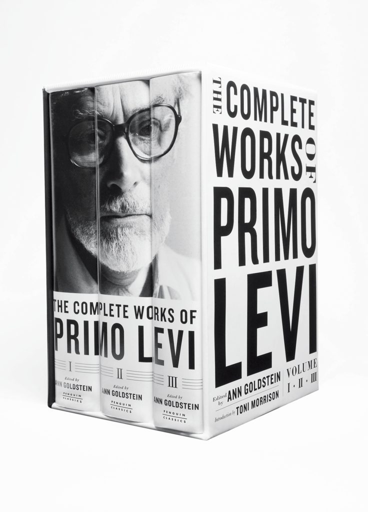 Primo Levi - 3d packshot