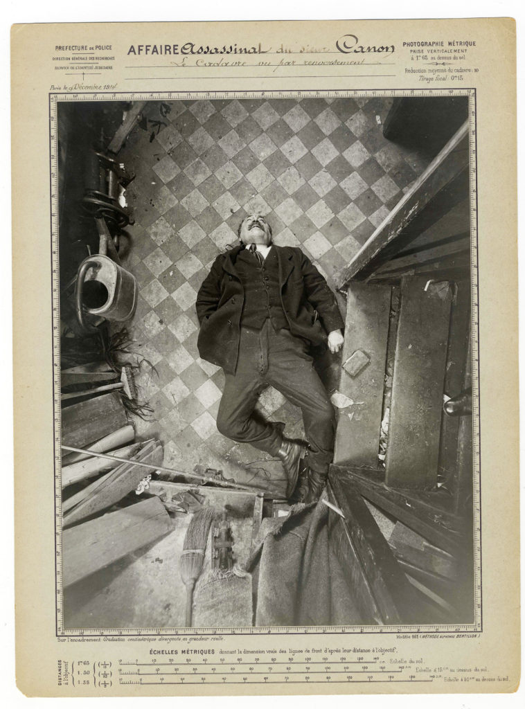 03_PressImage l BOP l Alphonse Bertillon, Murder of Monsieur Canon, 1914