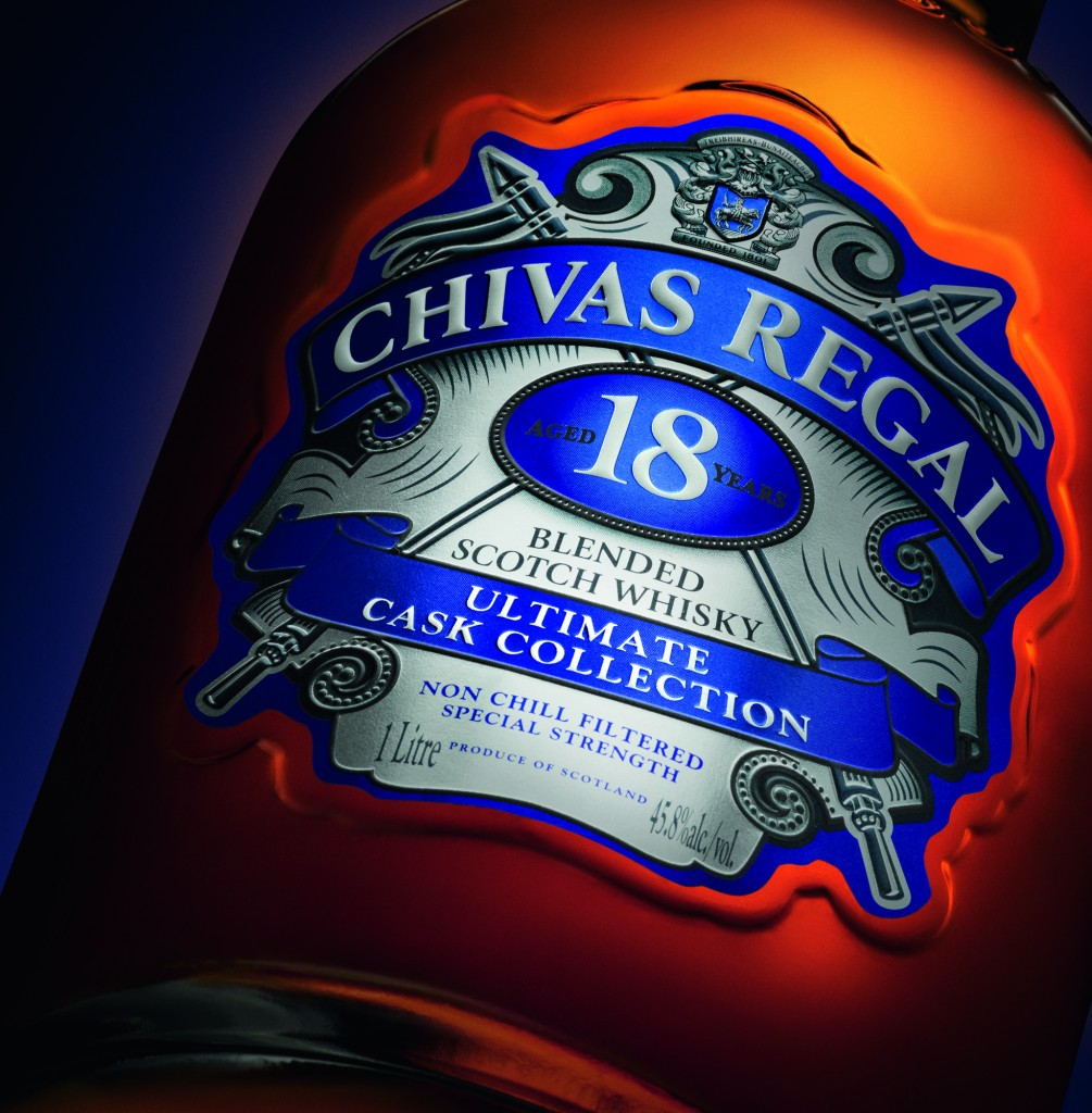 Chivas 18 Ultimate Cask Collection close up 3