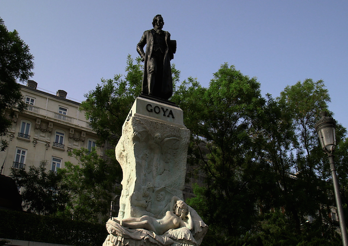 EOS Goya Visions of Flesh & Blood_Goya Statue � Seventh Art Productions