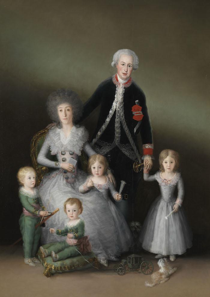 The Osuna Family, 1788