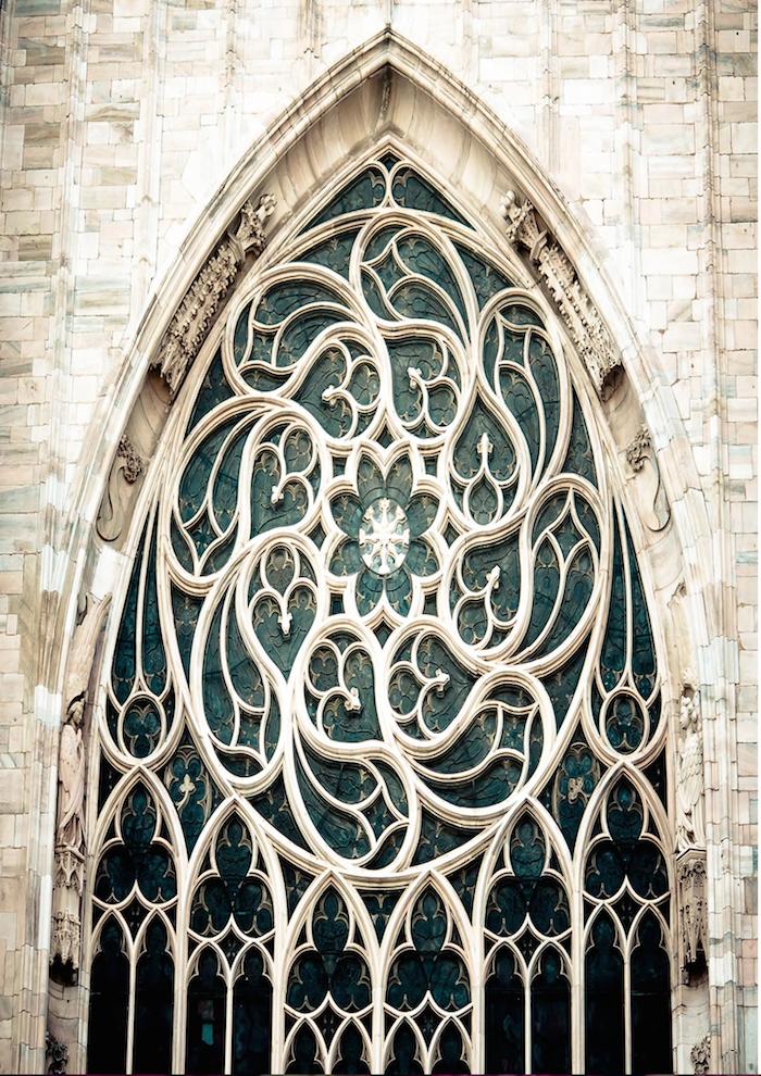 Duomo's Gothic Window