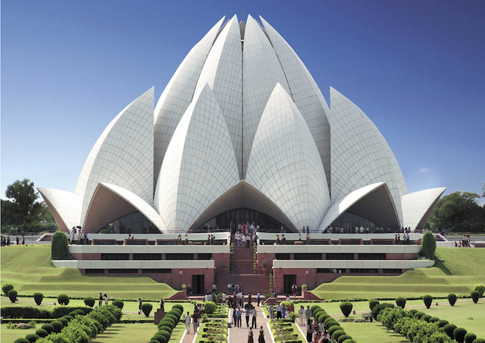 Revolutionary Modern Architecture & Design Ideas Inspired By Nature  Lotus  Temple in New Dehli