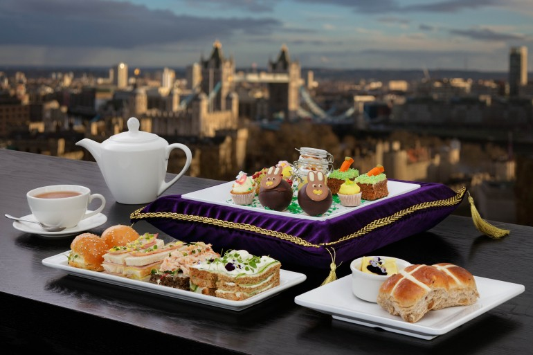 Skylounge Easter Afternoon Tea