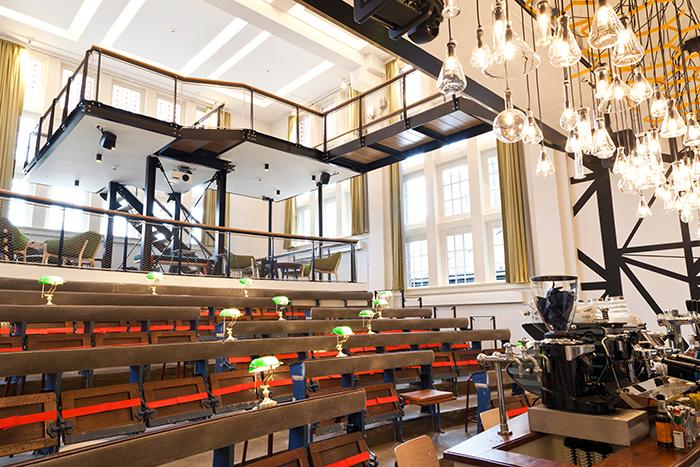 Foto Auditorium Generator Hostels Amsterdam